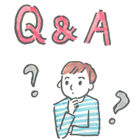 Q&Aのイラスト